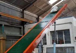 Inclined PVC Belt Conveyor