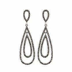 Marcasite Silver Earring