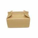 Brown Cake Box