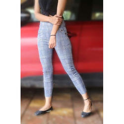 44134307d9127 Imported Blue Women's High Waist Denim Jegging Ankle Length Style ...
