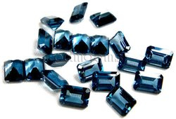 London Blue Topaz Octagon Gemstone