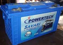 Power tek Warranty: Six Mounth E Rickshaw Battery, Model Name/Number: 1400, Capacity: 140Ah