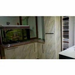Rectangular Kitchen Wooden Wardrobe