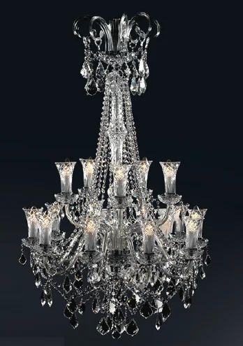 Crystal designer hanging chandelier shivswati enterprises private crystal designer hanging chandelier aloadofball Images