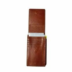 Brown Leather Mobile Cover, Size: 6 Inch (l), 3 Inch (w)