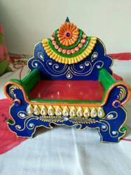 Wooden Sinhasan for Decoration