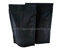 Black Paper Stand up Pouches