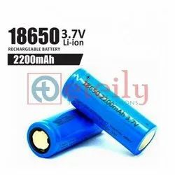 2200 Mah Rechargeable Battery 18650 Li-ion Battery Cell