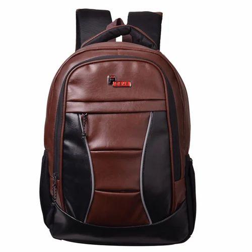 14329089dea1 Unisex F Gear President Lite Brown 25 Liter Laptop Backpack