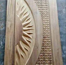 Teak Wood Door Best Quality