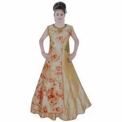 Girls Long Gown Dress