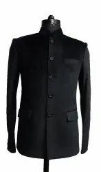 Rahman Creations Without Jacket Black Stylish Coat for Mens, Size: 36 to 44