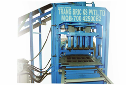 Paver Block and Fly Ash Making Machine