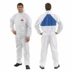 White 3M 4540 Protective Coverall