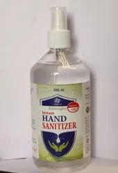 Sanitizer 500 ml with Push Pump