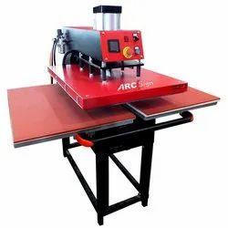 Pneumatic Flat Press Machine 16/24 with Air Compressor