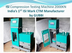 ISI COMPRESSION TESTING MACHINE