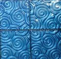Three D MOP Spiral Design Algae Swimming Pool Mosaic Tile