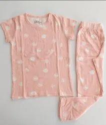Ramola Cotton Girls Night Set, 2 To 14 Years, Size: 2 to 12 yrs