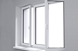 White Hinged Openable Window