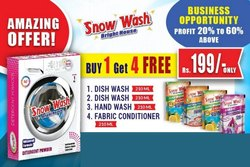 Snow Wash Detergent Distributor Opportunity