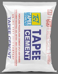 Tapee Pozzolana Portland Cement, Packing Size: 50 Kg, Packaging Type: Hdpe Sack Bag