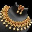 Sapna FX Kemp Temple Jewellery Set