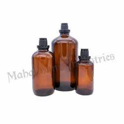 Chemical Glass Bottle Family