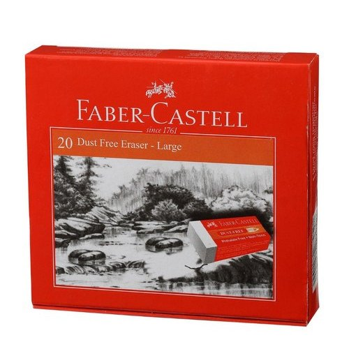 Faber-Castell White Dust-Free Eraser