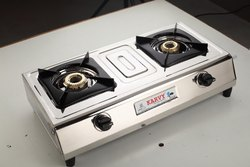 2 Burner Biogas Stove, Size: Big Size, Model Name/Number: Su 2b 207