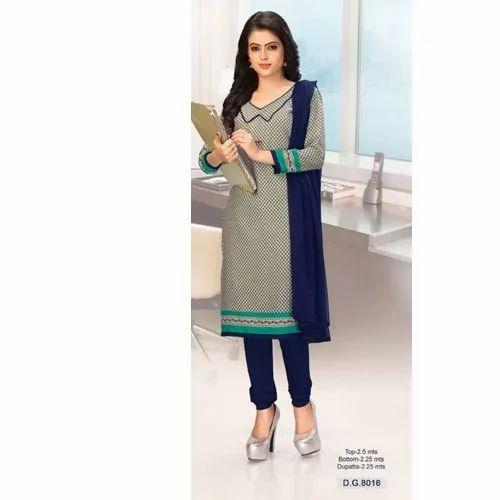 Cotton Daily Wear designer suits