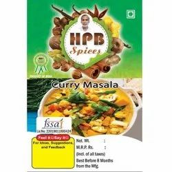 HBP Spices Curry Masala, Packaging Size: 50 kg, Packaging Type: PP Bag