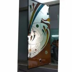 Decorative Printed Coloured Glass