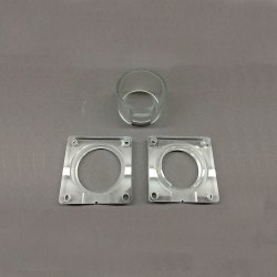 Stainless Steel CNC Machine Component, Rectangular, Material Grade: Ss304