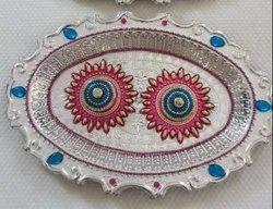 Designer Haldi Kumkum Platters