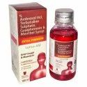 Ambroxol HCL Terbutaline Sulphate Guaiphenesin & Menthol Syrup