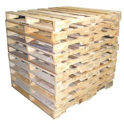 Wooden Rectangular Babool Wood Pallet, For Packaging, Capacity: 1000