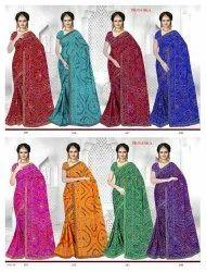 Designer Bandhani Sarees