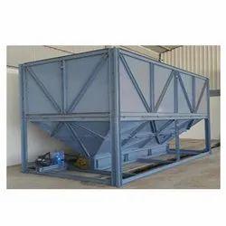 Mild Steel Dump Hopper, Weight Capacity: Upto 1 Ton
