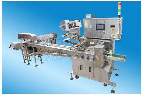 Four Servo Model Flow Wrapping Machine