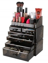 Acrylic Drawer Cosmetic Stand