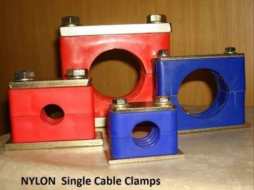 Nylon Frp Trefoil Clamp Cleat Pvc Nylon Trefoil Clamps