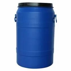 Blue Round 50 L HDPE Drums for Chemical Storage