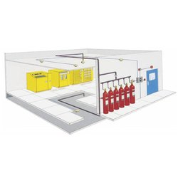 Server Fire Protection System