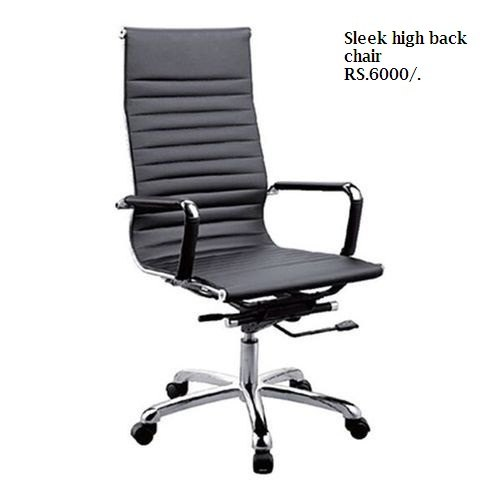 Sleek High Back Office Chair