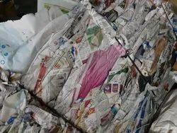 News Paper Print Scrap