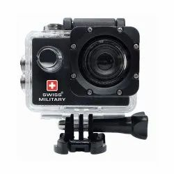 Swiss Military CAM1 HD 1080p Wanderer Water ProofDigital Action Camera
