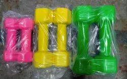 Fixed Weight Neoprene and PVC Vinyl Coated Dumbbells Set