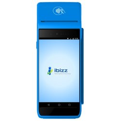 Automatic Plastic Wireless Ibizz Mini ATM MPOS Swipe Machine, For Supermarket