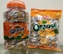 Atari Orange Candy, 300 Pcs And 160 Pcs, Packaging Type: Jar And Packet